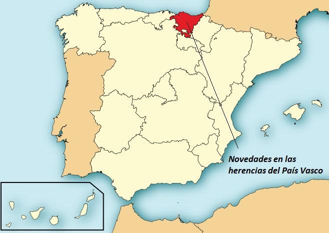 La legítima: diferente en el País Vasco